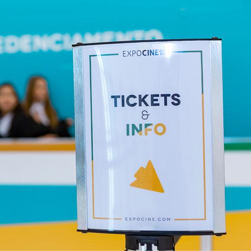 Expocine19 anuncia tipos de credenciais