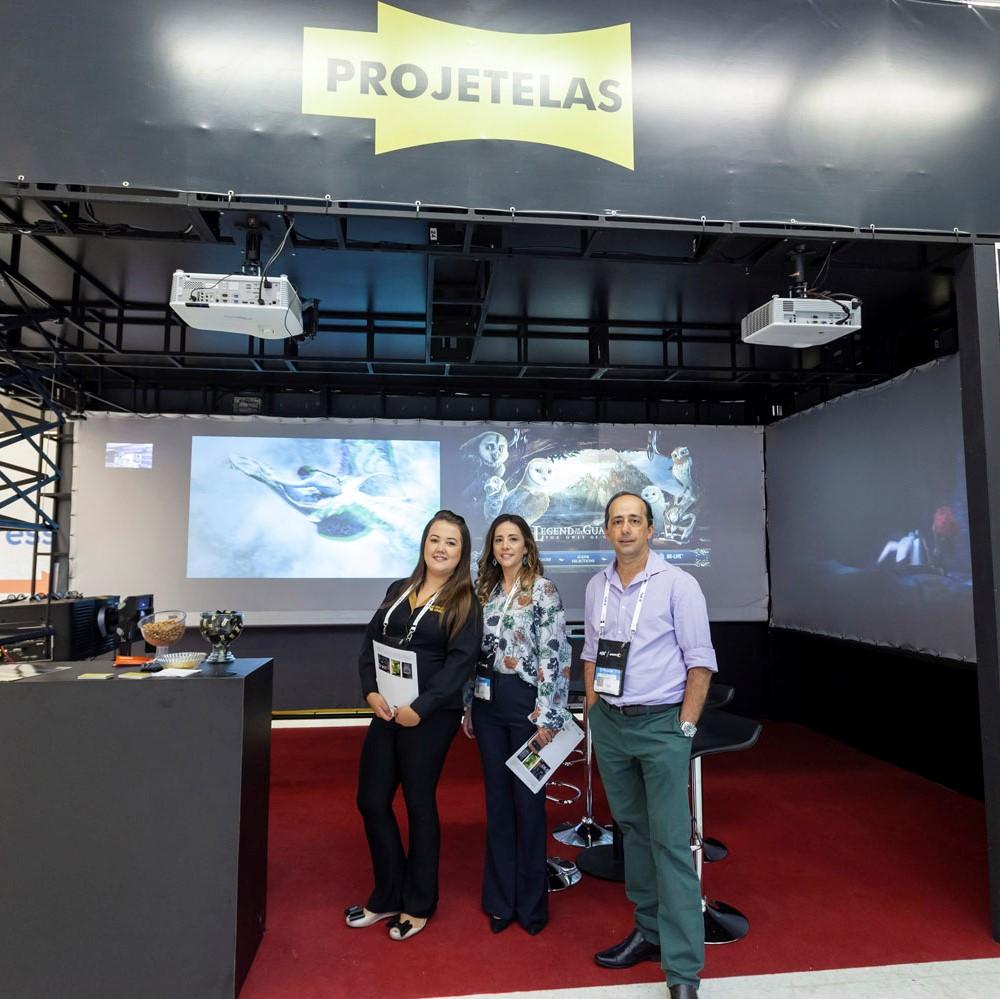 Projetelas confirma participação na Expocine19