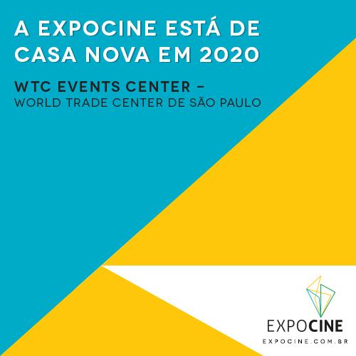 A Expocine está de casa nova até 2023