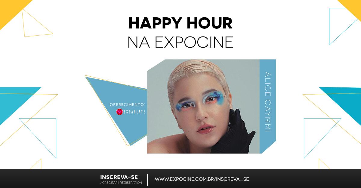 Alice Caymmi comanda Happy Hour de encerramento da Expocine 2020