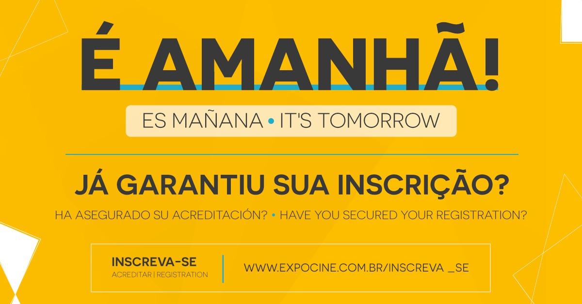 Expocine 2020 começa amanhã; confira as atrações!