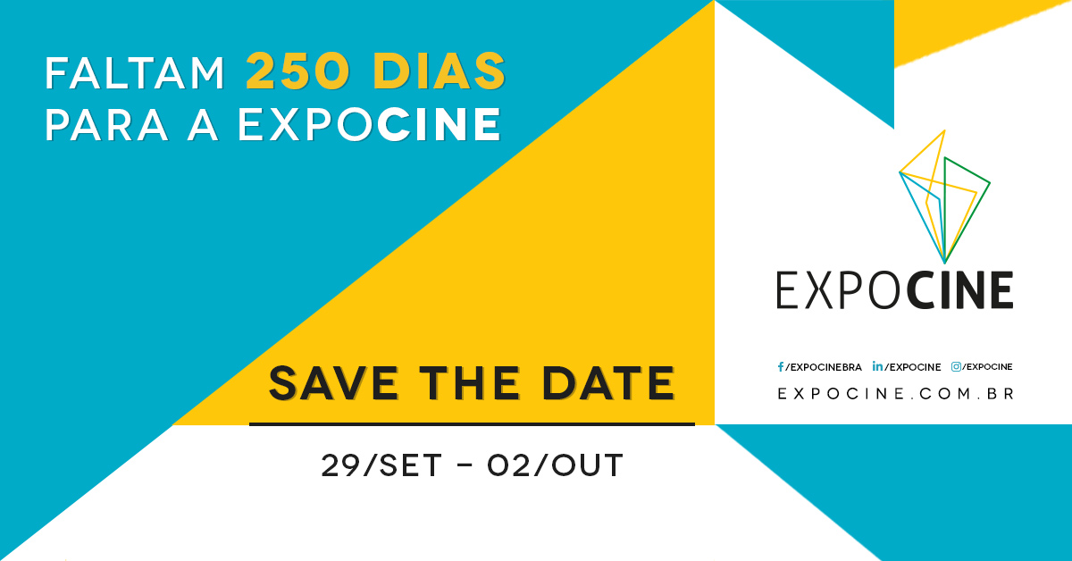 Expocine 2020: save the date